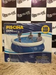 Título do anúncio: Piscinas infláveis 2490 litros
