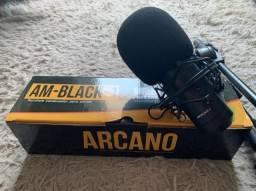 Microfone Arcano Black