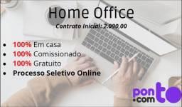 Consultor(a) de inteligência financeira home office
