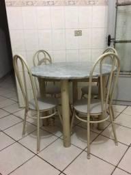 Mesa de cozinha com mármore!!
