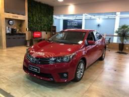 Toyota Corolla XEI 2.0 Automático com Mídia e Couro Top!