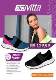 Título do anúncio: Tênis Slip On Feminino Actvitta 4815.100