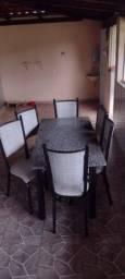 Título do anúncio: Mesa de quatro cadeiras.