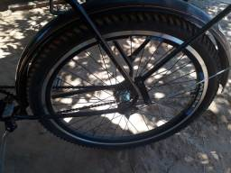 Verde se uma bicicleta  monak