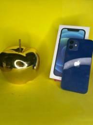 Título do anúncio: iphone 12 64Gb azul ( garantia até 12/21)
