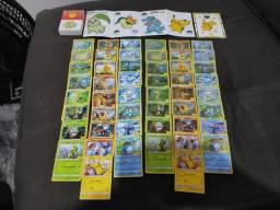 Título do anúncio: Coleção Completa 25 Cards Comuns + 25 Cards Foil Pokémon 25 Anos Mc Donalds 2021