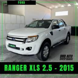 FORD RANGER XLS 2.5 - 2015 GÁS G5