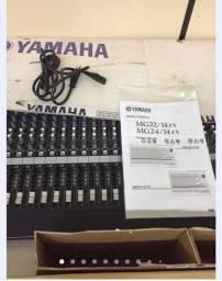 Título do anúncio: Mesa de som Yamaha mg32/14fx