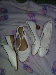 Sapatos branco n.35/36