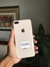 iPhone 8 Plus 64gb Gold impecável