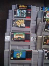 Fitas de super Nintendo (leia)