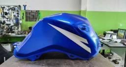Tanque Titan 150 2015 azul