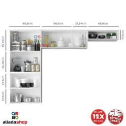 ? Cozinha Compacta Itatiaia Rose - 7 Portas Aço <br><br>