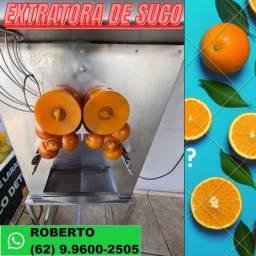 Super máquina extratora de suco laranja