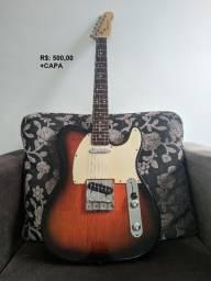 Guitarra Telecaster Michael Antiga Otimo Estado(com capa)