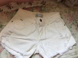 Título do anúncio: Shorts jeans branco