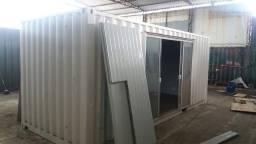 """Container Dry 20"""" 6x2,44X2,59 M - 14,64 m² Escritório/Sala Comercial"""