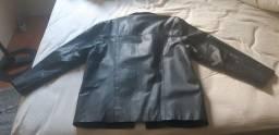 Jaqueta de couro legítimo zerada