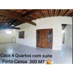 Casa Linear individual 4 Quartos com suíte Lote inteiro Porto Canoa - ES
