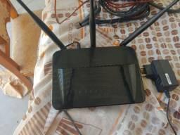Modem roteador sem fio da D link novinho apenas 180