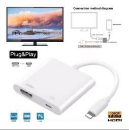 Adaptador Lightning Hdmi Para iPhone E iPad