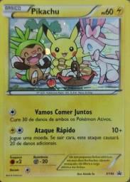 Promoção!! Carta Pokémon Básico - Pikachu Ps 60 - Xy95 Promo