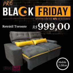 Título do anúncio: Retrátil e reclinável Toronto