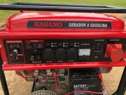 Título do anúncio: Gerador a gasolina Nagano