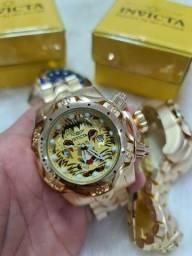 Relógio invicta lion venom masculino top