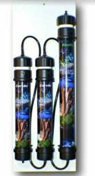 Filtro deionizador para aquário- 3 estágios