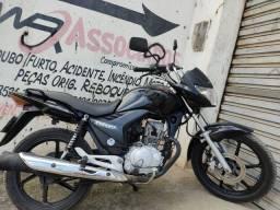 Moto 150 ex 2011/12 flex preta extra