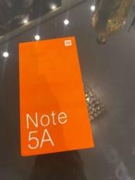 Título do anúncio: Xiaomi note 5A na caixa, novo lacrado