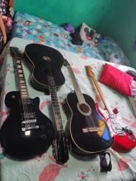 Título do anúncio: Guitarra Les Paul braço colado corpo em Alder