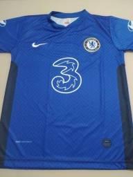 Camisa Azul do Chelsea tamanho M e G