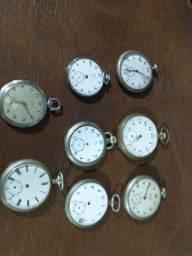 Relógios de bolso.