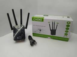 Repetidor de sinal Wi-Fi  4 anterna 300mbps