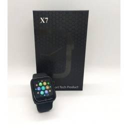 Relógio Smartwatch X7 Lançamento Top, recebe Ligação/rede Sociais