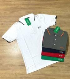 Camisa gola polo linha Premium