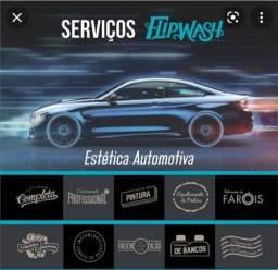 Título do anúncio: Lavagem e polimetos de carros em delivery
