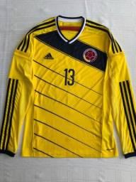 Camisa Colômbia Copa do Mundo 2014 Adidas