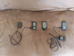 3 celulares com defeito e 2 carregadores funcionando