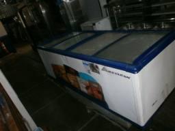 Título do anúncio: balcão ilha -para congelados- reformado e com garantia - medindo 200x80