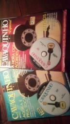 Kit livros de cavaquinho vlm1 e 2