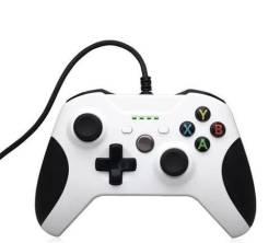 Controle Xbox One e PC com Fio e P2 Novos