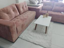 Conjunto de sofá requinte 2 e 3 lugares