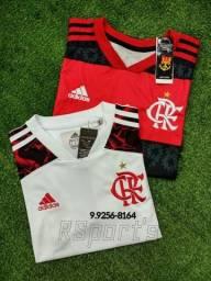 Camisa 1 e 2 do Flamengo ( valor da cada)