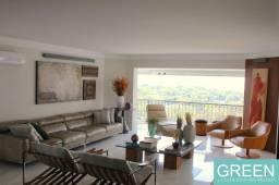 Título do anúncio: Apartamento de altíssimo padrão para locação em condomínio clube. Vista panorâmica para ci