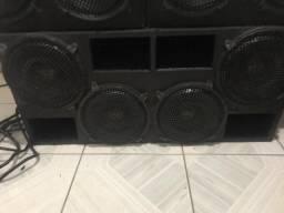 Vendo 4 alto-falantes eros mb 3.2