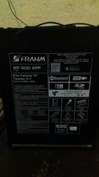 Caixa amplificada 600w