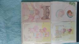 Linfa coleção de Papéis de cartas com mais de 30 anos